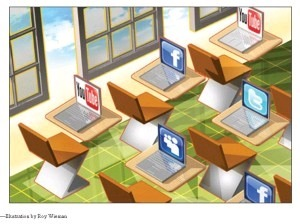 Have Facebook and the Social Media Found Their Places at School? | Nerd Stalker Techweek | Scoop.it
