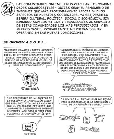 ¿Qué es S.O.P.A. y Protect Ip? Con Mafalda | Estudios Redes Sociales | Scoop.it