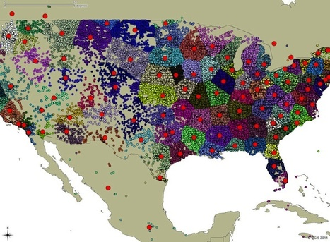 Geo API from Infochimps brings you closer to mapping fun | visual data | Scoop.it