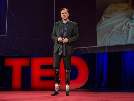 A powerful talk from Hugh Herr, 7 years in the making | TED Blog | Transwarrior | Scoop.it