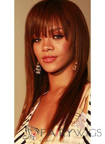 Soft Medium Straight Blonde Real Human African American Wigs : fairywigs.com | African American Wigs | Scoop.it