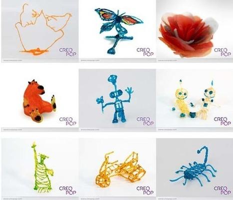 CreoPop, creaciones 3D ¡en frío! - Educación 3.0 | Impresora 3D y Educación | Scoop.it