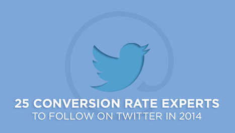 25 Top-Tier Conversion Rate Experts to Follow in 2014 | Rejoiner Conversion Rate Optimization Blog | 1Site2Day | Scoop.it