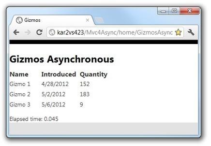Using Asynchronous Methods in ASP.NET MVC 4 : The Official Microsoft ASP.NET Site | Asp.net MVC | Scoop.it