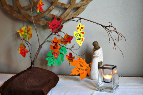 Homemade Thankful Tree Craft For Kids   Essentially Mom Favorites   Scoop.it