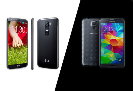 LG G3 vs. Samsung Galaxy S5: Which is Better for Business?   Digital-News on Scoop.it today   Scoop.it