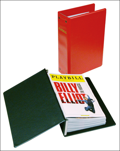 The Basic Playbill Binder - Economical Storage for Your Playbill Collection | Christmas list 2013 | Scoop.it