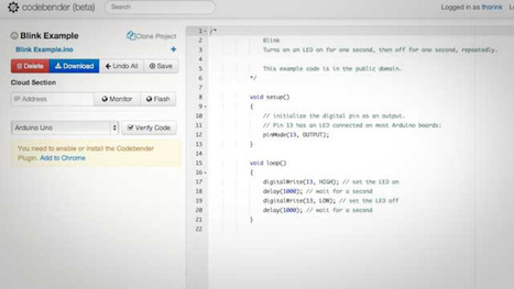 CodeBender Makes it Easy to Program Your Arduino from a Browser | Raspberry Pi | Scoop.it