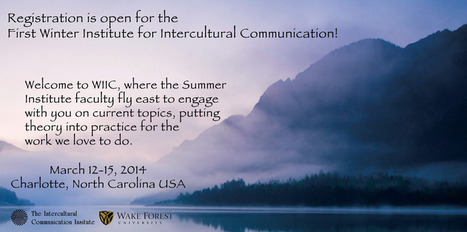 First Winter Institute for Intercultural Communication   SIETAR-France   Scoop.it