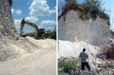 2,300-year-old Maya pyramid bulldozed for Belize road project | Quite Interesting News | Scoop.it