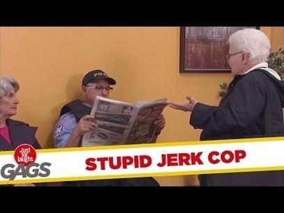 Jerk Cop Steals Old Lady's Seat | Marketing | Scoop.it