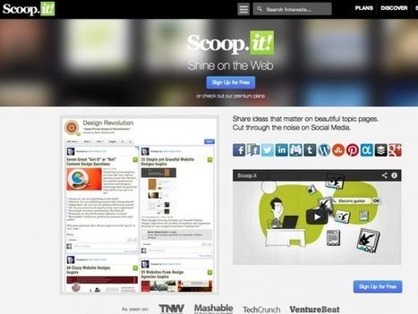 ツイナビ【話題】関心のある分野の情報を集めてくれるキュレーション「Scoop.it」からiPadアプリ登場 | Sozzze it | Scoop.it
