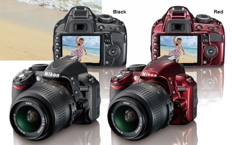 Announcement: Nikon D3100 in red | Everything Photographic | Scoop.it