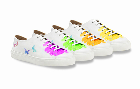 "les sneakers ""Papillon"" de Fratelli Rossetti 