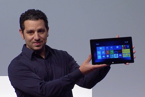 Microsoft's Surface strategy: Flatten the PC - PCWorld   microsoft surface   Scoop.it
