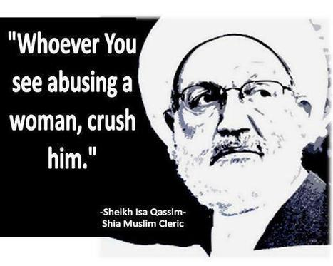 Comment on Sheikh Isa Qassim's call to answer violence with violence! | Human Rights and the Will to be free | Scoop.it