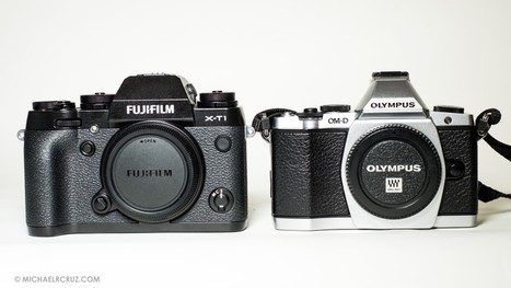 Fujifilm X-T1 . Initial Impressions & Comparisons | Michael R. Cruz | Fuji X-Pro1 | Scoop.it