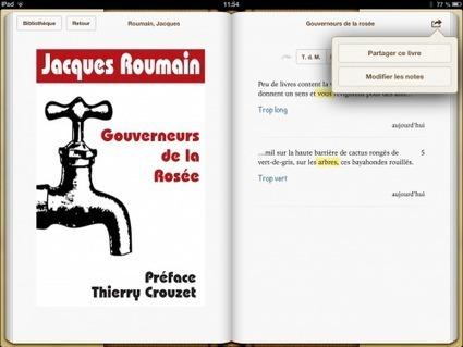 Partager ses notes de lecture depuis l'iPad/iPhone avec l'application IBooks   François MAGNAN  Formateur Consultant   Scoop.it