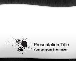 Plantilla PowerPoint de tinta negra   Plantillas PowerPoint Gratis   Plantilas PowerPoint   Scoop.it