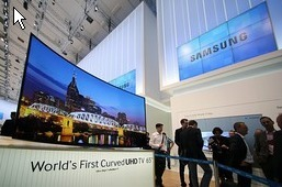 Samsung, LG Launch More Curved TVs | operations | Scoop.it