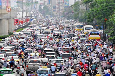 Plans to reduce traffic congestion by 2020 'unfeasible' transport official | Liên-Viêt Réseau culturel France Vietnam | Scoop.it