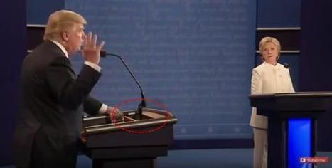 'Rigged' Debates? Questions Arise Again Over Lighted Screen At Hillary's Podium | Zero Hedge | Saif al Islam | Scoop.it