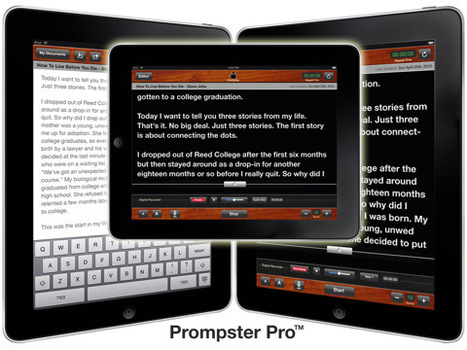 Prompster™ for iPad | Leadership, Trust and e-Learning | Scoop.it