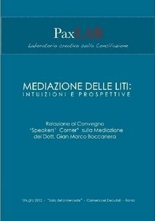 Pubblicazioni   Mediazione delle liti, Intuizioni e Prospettive   Scoop.it