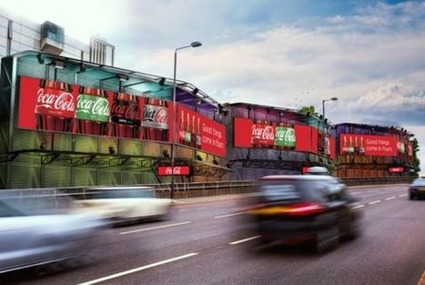 » Royaume-Uni : Storm numérise ses panneaux de Cromwell Road pour créer un nouveau site digital de 72 mètres de long   digital signage   Scoop.it