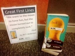 Great First Lines YA Book Display | LibraryLinks LiensBiblio | Scoop.it