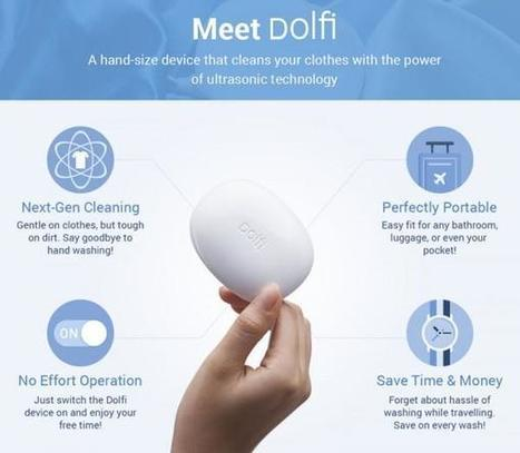 Dolfi - The Tiny Gadget That Could One Day Replace Your Washing Machine | Oddity Central - Collecting Oddities | Weird Phenomena | Scoop.it