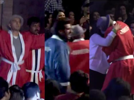 Ranveer Singh at All India Bakchod Goes on Kissing a Fan | Bollywood News,Gossips,Photoshoots,Movie Reviews | Scoop.it