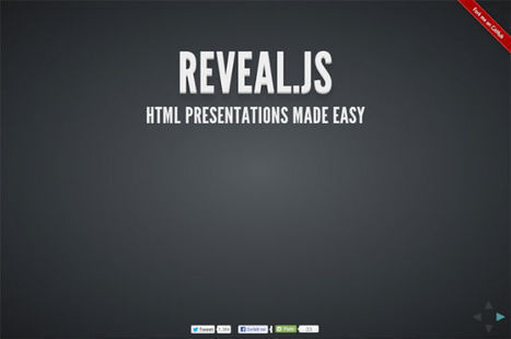 Presentations With Reveal.js and HTML5: Better Than PowerPoint | Nouvelles des TICE | Scoop.it