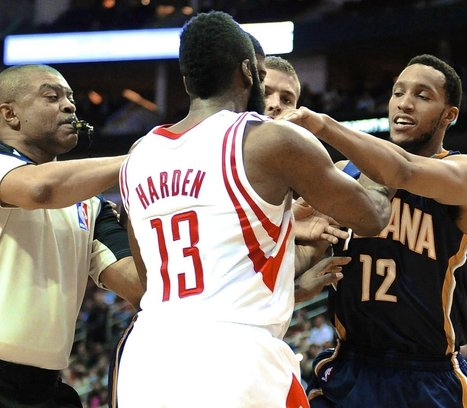 Harden, Turner Nearly Come to Blows | Sports News | Scoop.it
