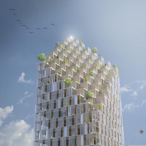 Stockholm va accueillir un gratte-ciel en bois | Immobilier | Scoop.it