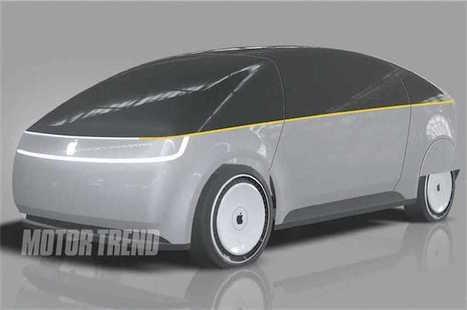 Encore un concept de la voiture selon Apple | Chronique d'un pays où il ne se passe rien... ou presque ! | Scoop.it
