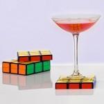 Rubik's Coasters Solve Drinksweat | All Geeks | Scoop.it