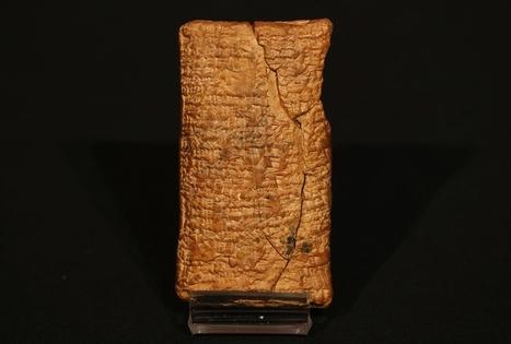 4.000 jaar oude tablet werpt nieuw licht over Ark van Noach - De Standaard | KAP_VandenTorrenT | Scoop.it