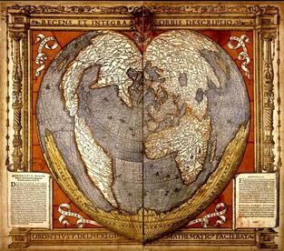 El enigmático mapa de Oronce Finé