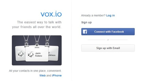 Call the world | vox.io | Time to Learn | Scoop.it