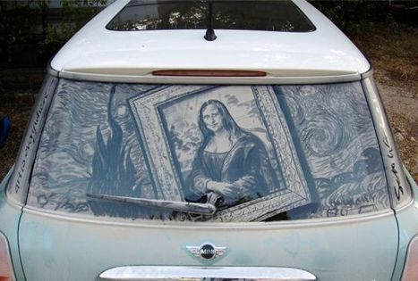Dirty car artist leaves masterpieces in the dust | Cult of Mac | Creative Civilization | Scoop.it