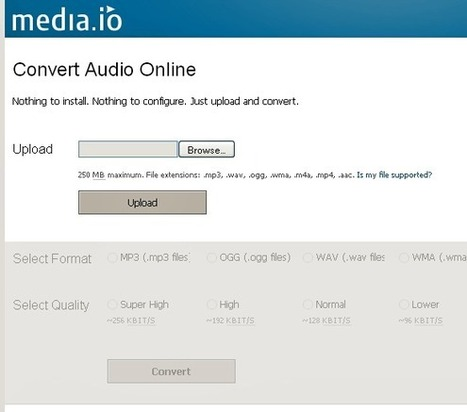 Media.io: Easy Audio to MP3, WAV, OGG, WMA, M4A, MP4 and AAC Converter | Voice Recording for Productivity | Scoop.it
