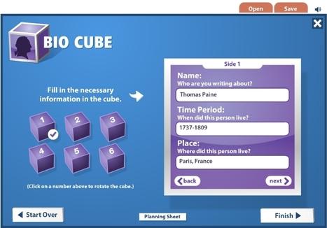 Cube Creator - ReadWriteThink | iPads at Sanborn | Scoop.it