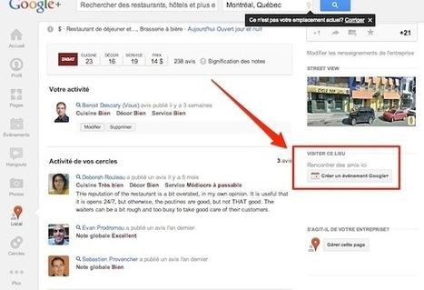 [astuce] Google+ : créez des événements associés à une entreprise locale | Communication publique, marketing territoriale, communication institutionnelle, réseaux sociaux | Scoop.it