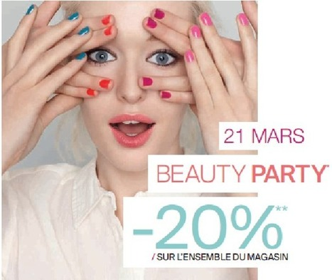 Soirée Beauté VIP chez Beauty Monop   Marketing de l'industrie de la beauté   Scoop.it