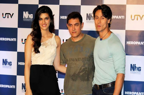 Heropanti Movie Trailer Launch | Heropanti Movie Trailer Launch Images | Heropanti Movie Trailer Launch Stills | Subhash Ghai At Heropanti Movie Trailer Launch | Aamir Khan At Heropanti Movie Trail... | Morningcable Bollywood Gallery | Scoop.it