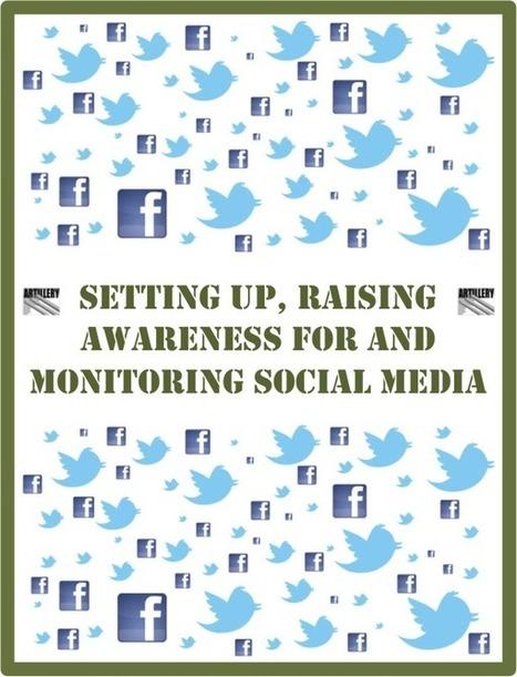 Free eBook: Setting Up, Raising Awareness for, and Monitoring Social Media | eBook Gratis | Scoop.it
