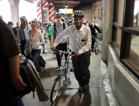 Metra eases policy restricting bikes on trains - Chicago Tribune | cycling | Scoop.it
