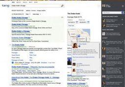 Bing renforce sa recherche sur les réseaux sociaux avec l'aide de Facebook et Twitter   Internet world   Scoop.it