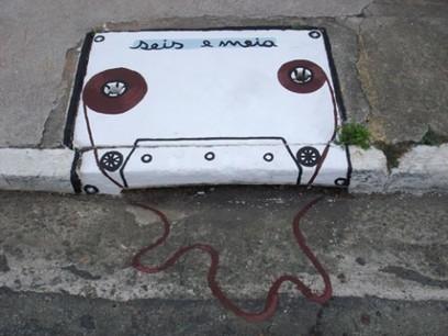 K7 graffiti   DESARTSONNANTS - CRÉATION SONORE ET ENVIRONNEMENT - ENVIRONMENTAL SOUND ART - PAYSAGES ET ECOLOGIE SONORE   Scoop.it